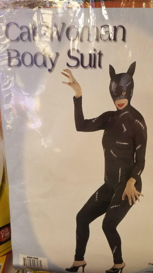 This Catwoman body suit