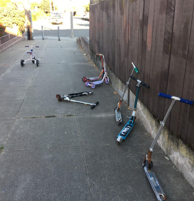 Walked past this scene the other day. Some shit was definitely going down...