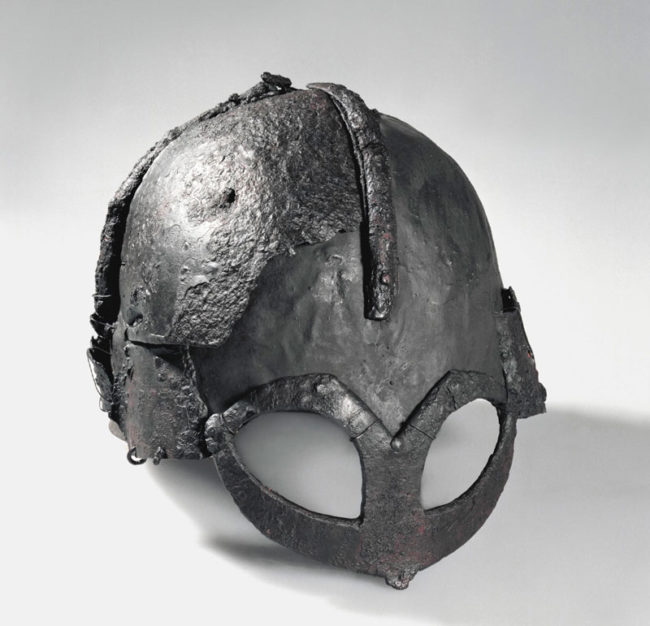 The only complete viking helmet ever found - Gjermundbu, 1000 years old