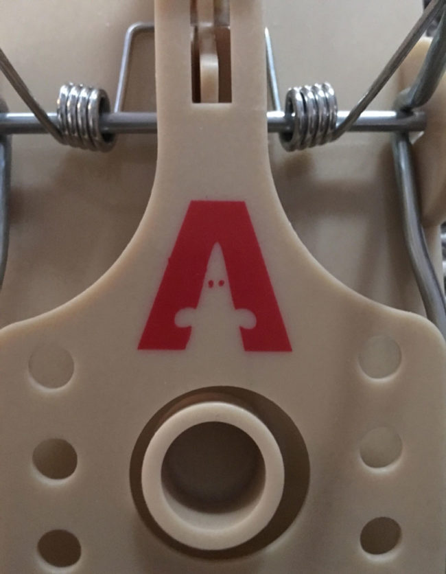 Sometimes when I look at my mousetrap I see a mouse, other times I see a Little klansman with stubby arms