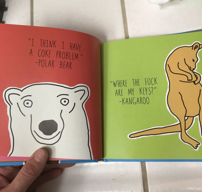 A grandma gifted this book to her 6-year-old grandson thinking it was a children's book