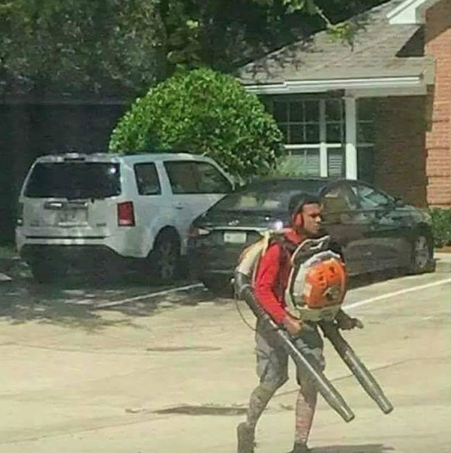 After you defeat all the other landscapers, you must face the final boss