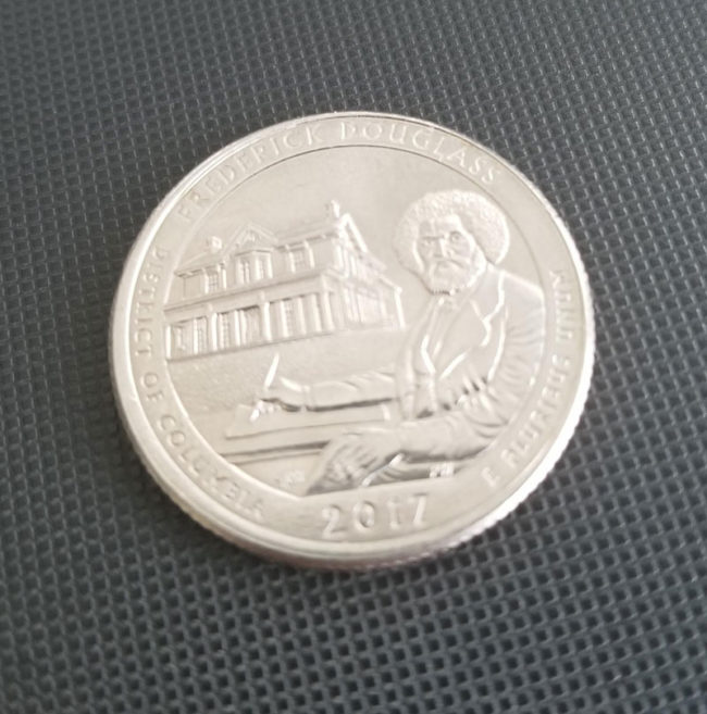 Thought Bob Ross got his own quarter at first glance