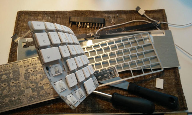 Tried to repair my Apple Keyboard today. Not successful