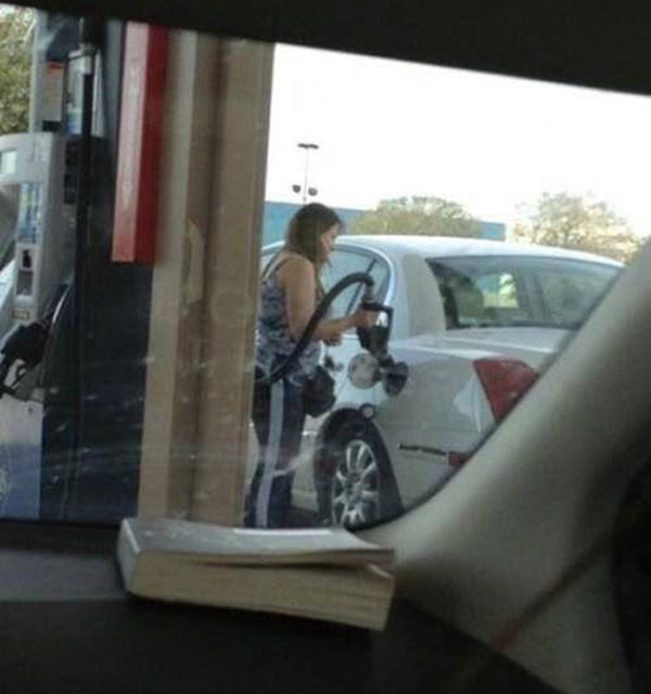 It's the fourth day since Oregonians have started pumping their own gas