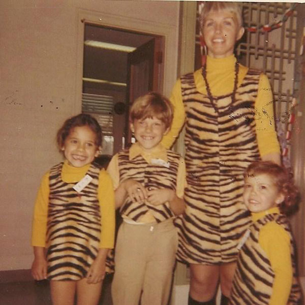 Circa 1971 - Mom had these custom made to make sure we'd look like super dorks