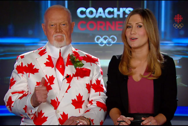 I feel like the Canadian Olympic broadcasters aren't very impartial