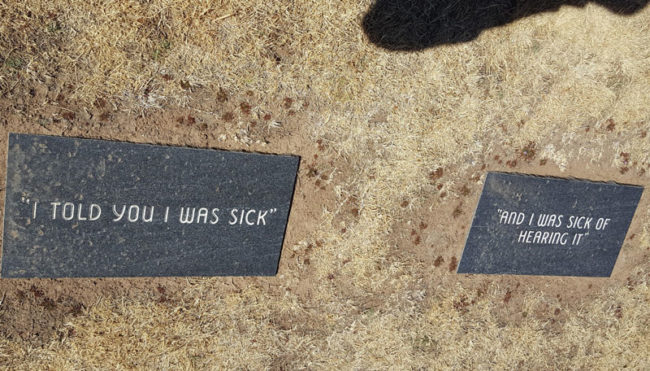 This couples tombstone