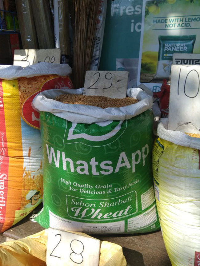 In India, WhatsApp can be used for anything