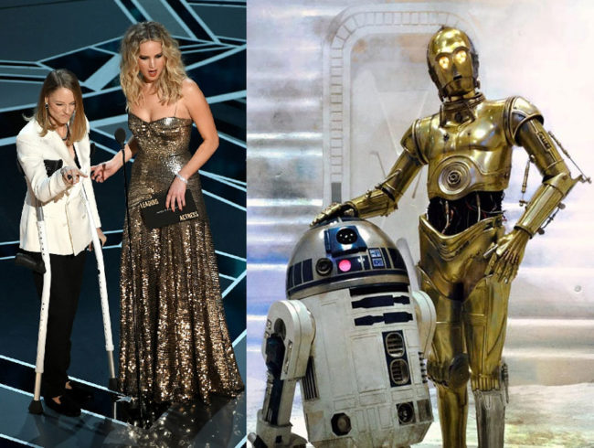 These Oscars presenters looked familiar..