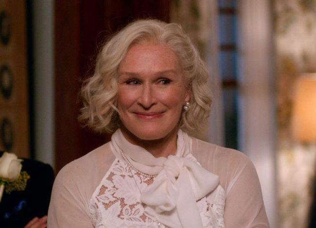 Glenn Close is starting to look like Mrs. Doubtfire