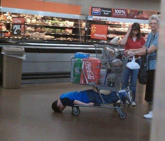 Meanwhile, In Walmart..