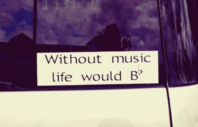Life without music..