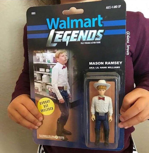 Internet stars now get action figures