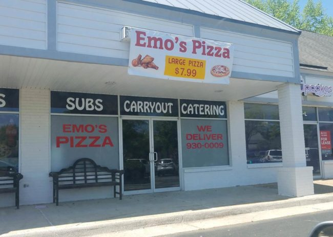 Where the pizza cuts itself
