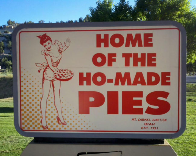 Ho's do make the best pies