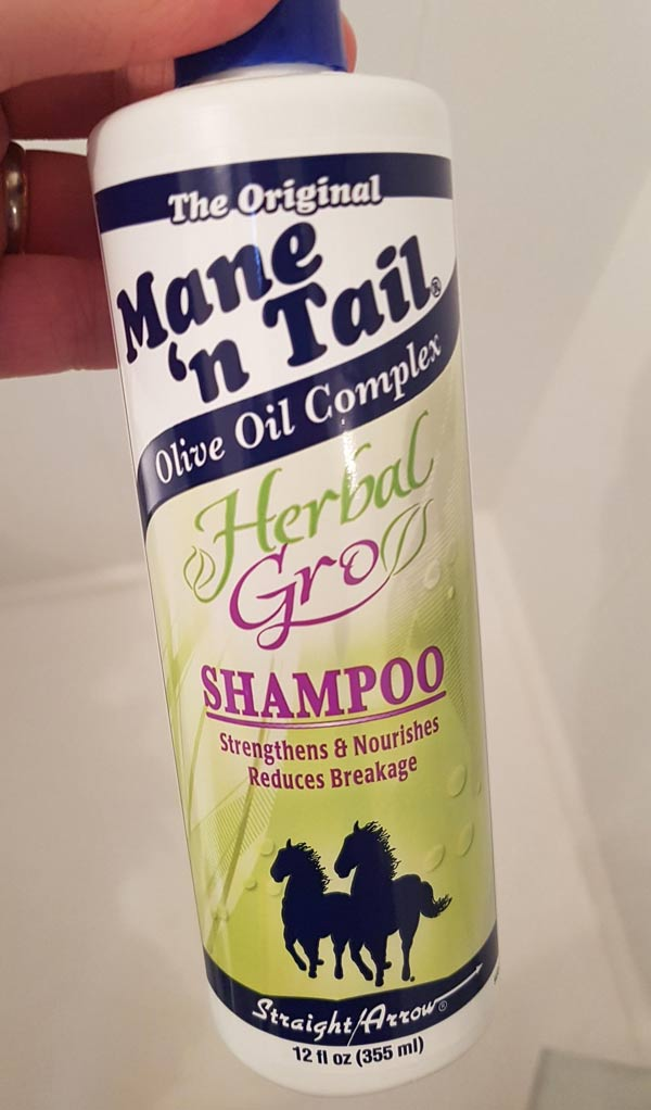 Found in my sisters bathroom, she insisted it's not horse shampoo