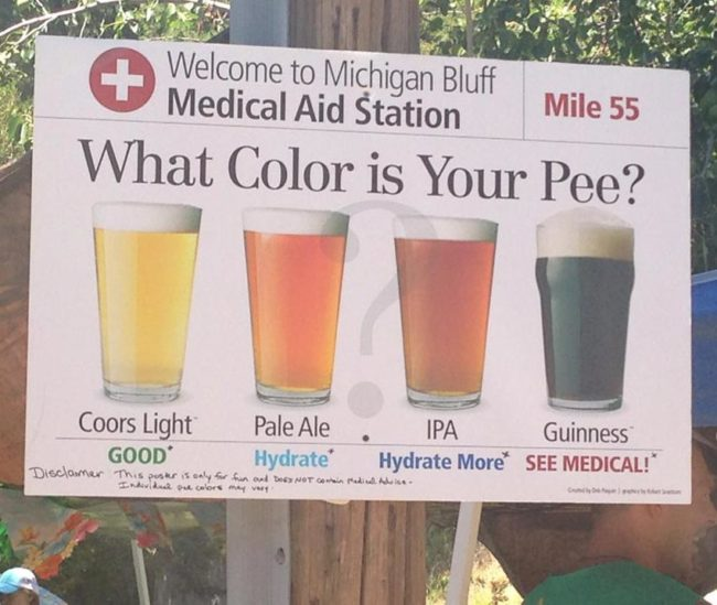 What color is your pee?