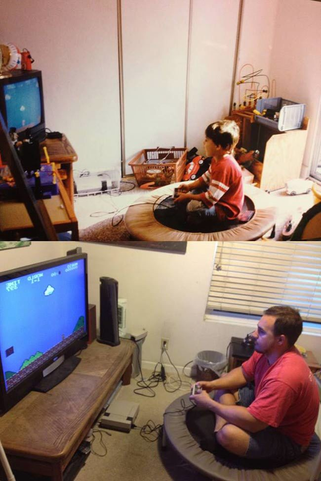 """You can't just sit there playing that video game the rest of your life!"" Challenge accepted"