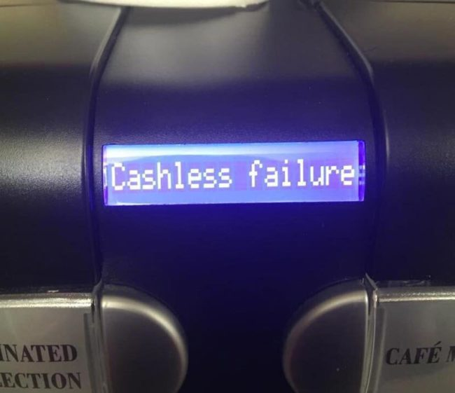 This coffee machine describes me too well