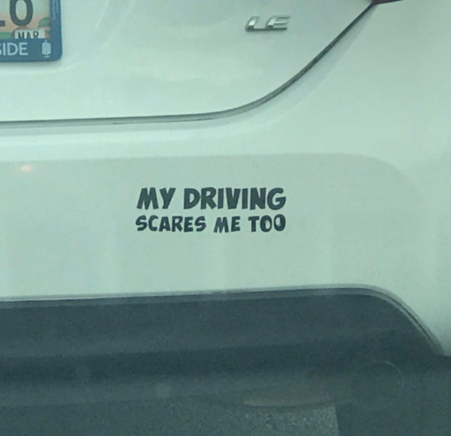 More drivers should have this sticker