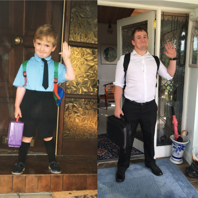 First day of Primary School vs Last day of Teacher Training