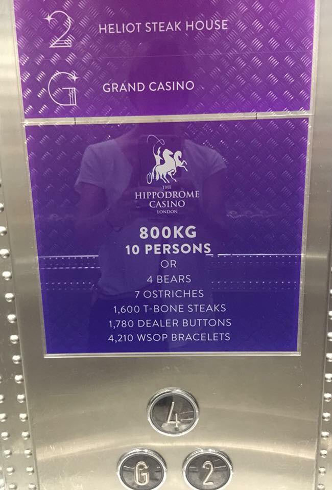 This elevator in London