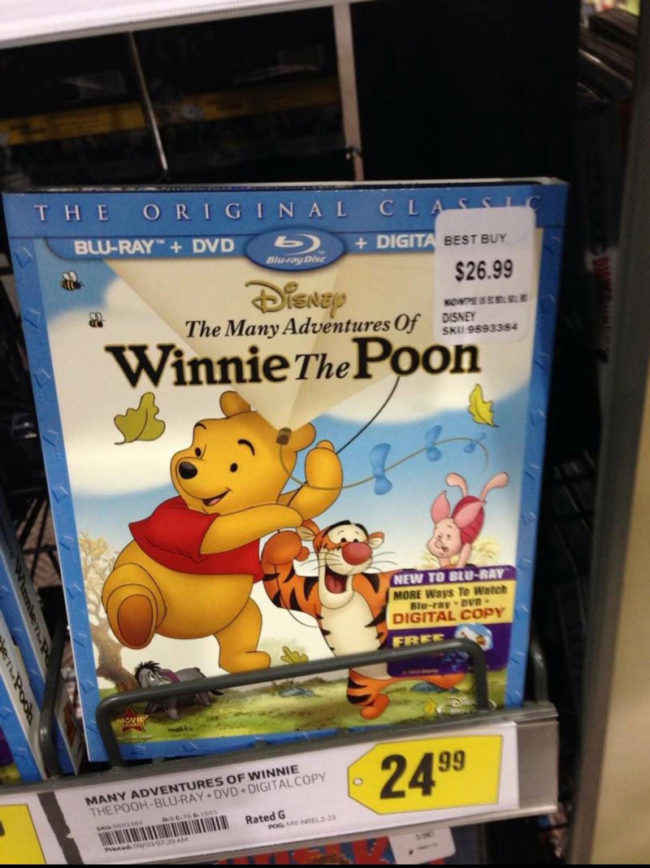 Winnie the what?