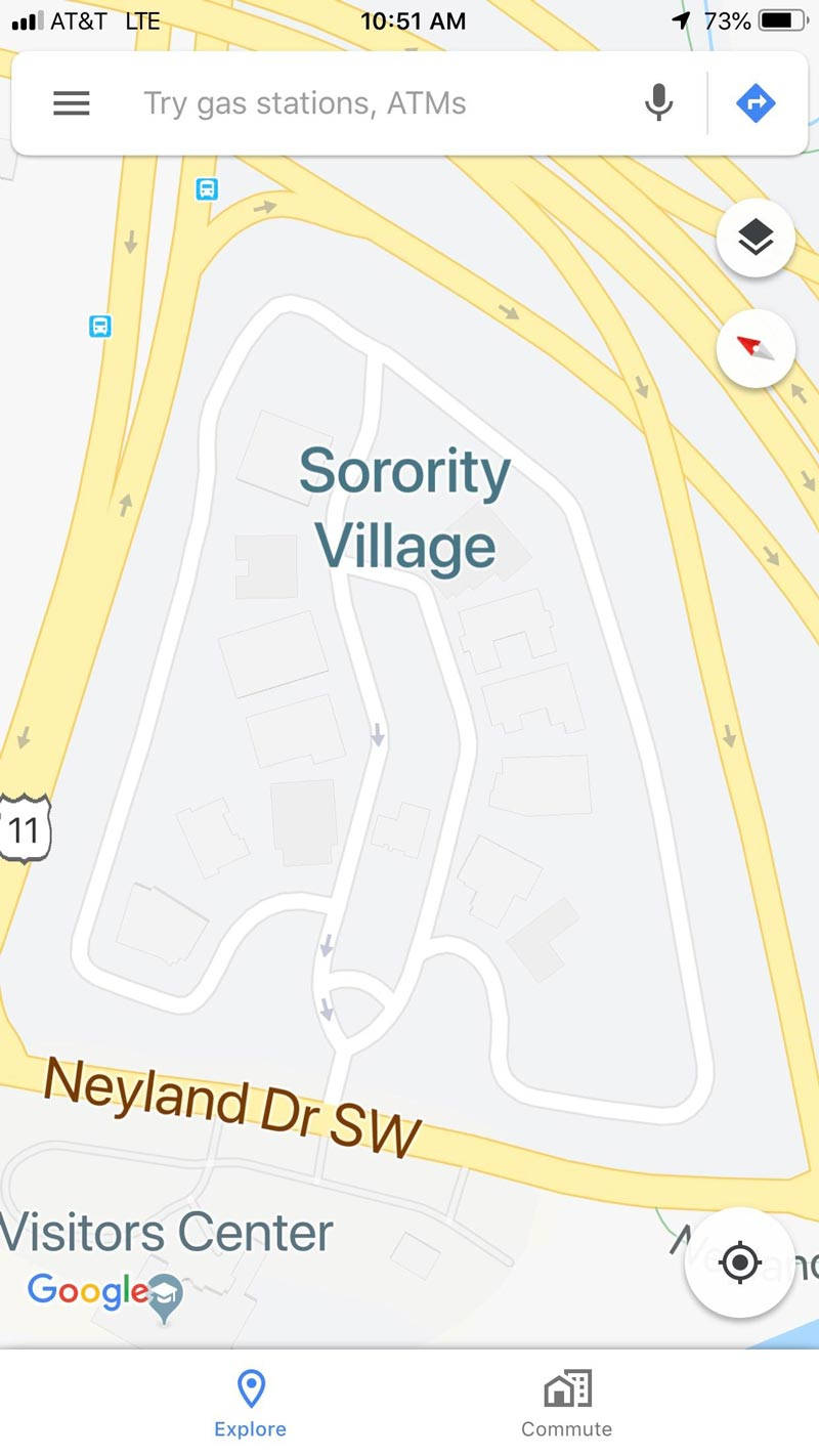 Sorority Village is a dick poking out your boxers