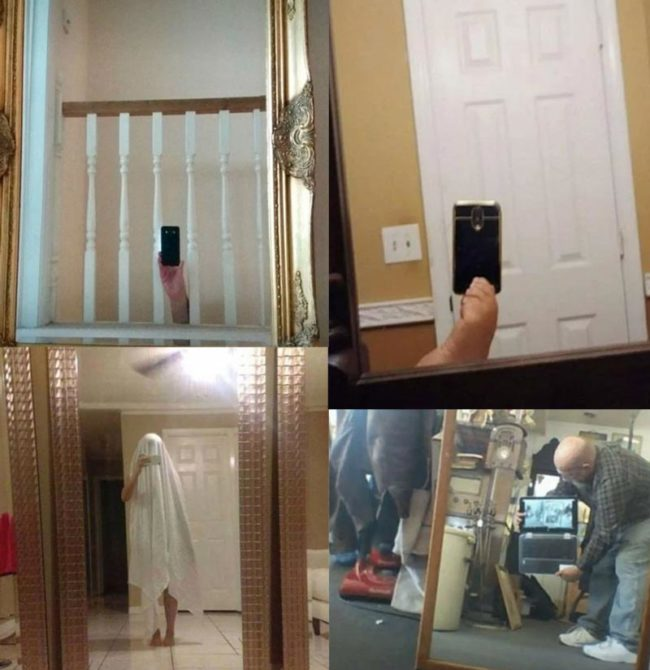 Selling mirrors online