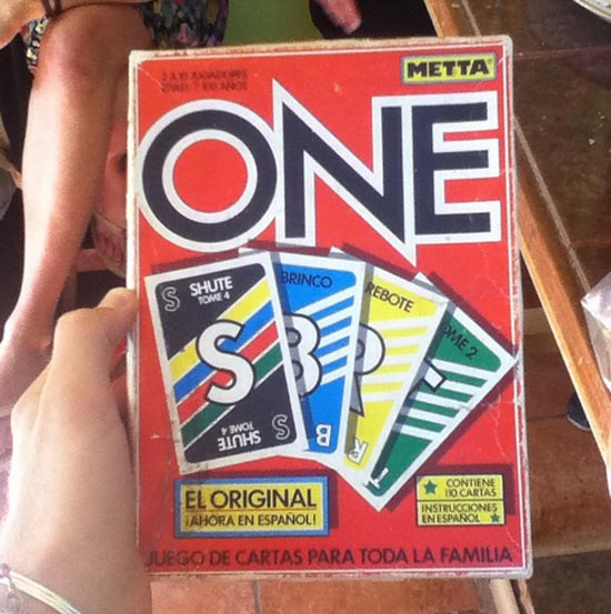 Uno in Spanish