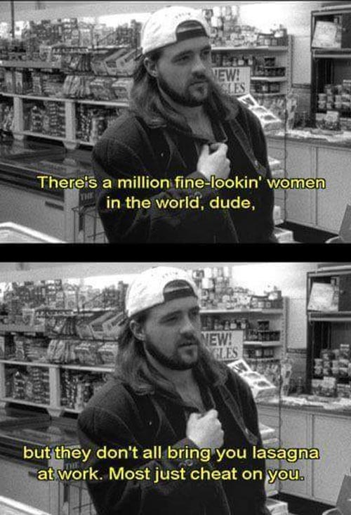 Wise words from Kevin Smith