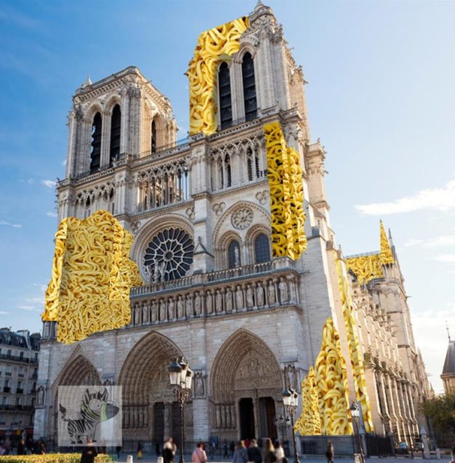 Leaked image for Notre Dame repair #noodledame