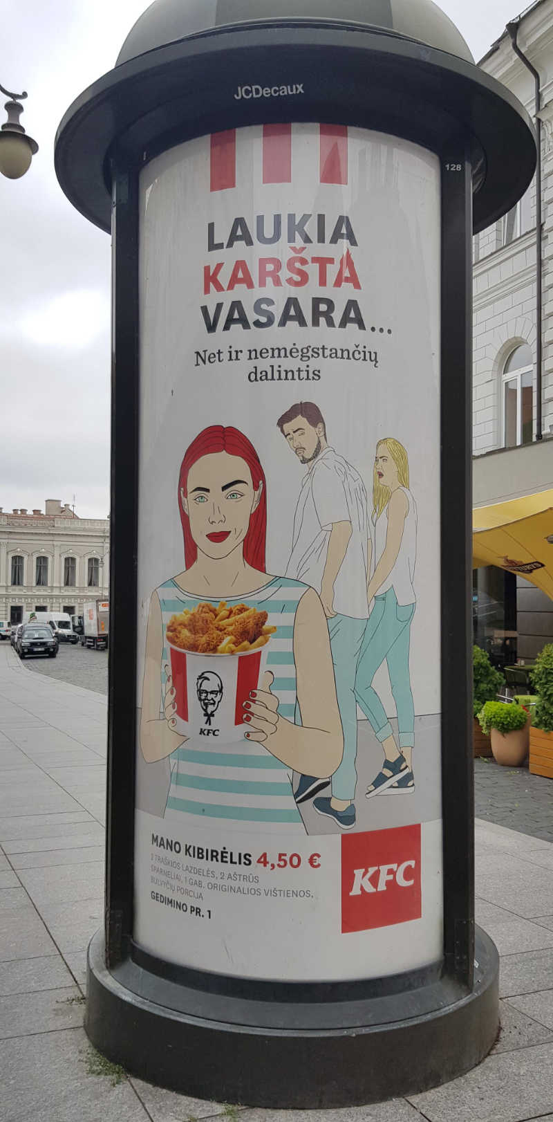 KFC Lithuania has the best marketing strategies