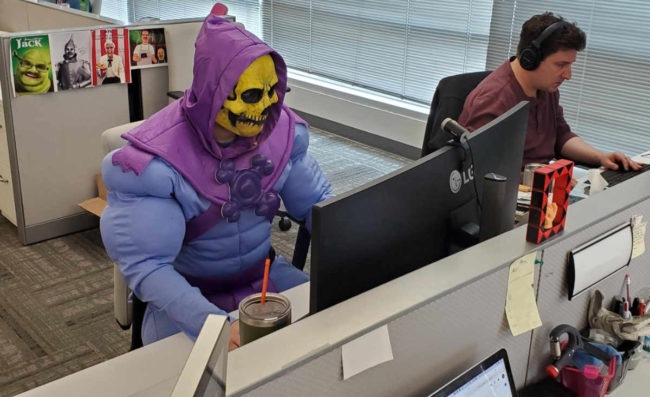 I'd like to conquer Castle Grayskull, sure. But these finance reports are due by 430 and they ain't gonna do themselves