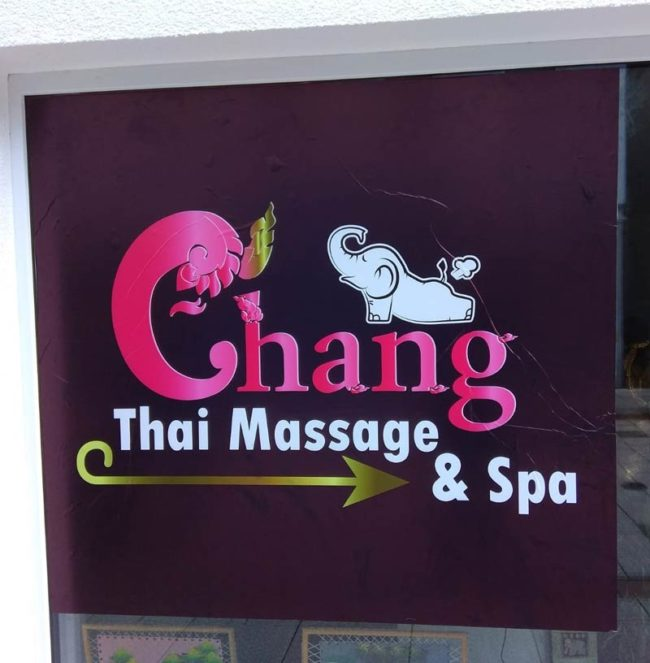 Found this farting elephant on a massage salon ad