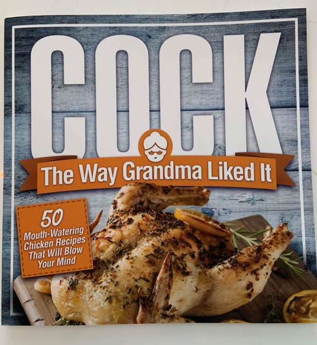 My new Cock Book