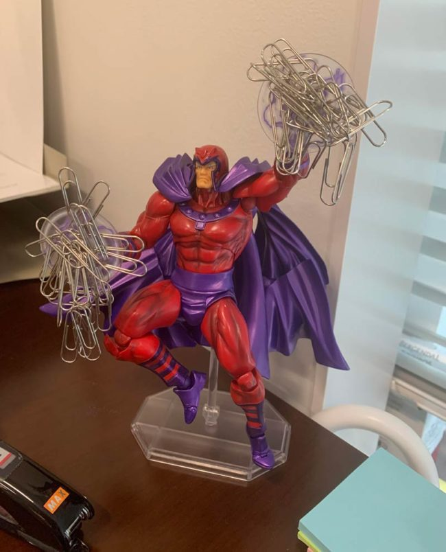 My Magneto paperclip holder