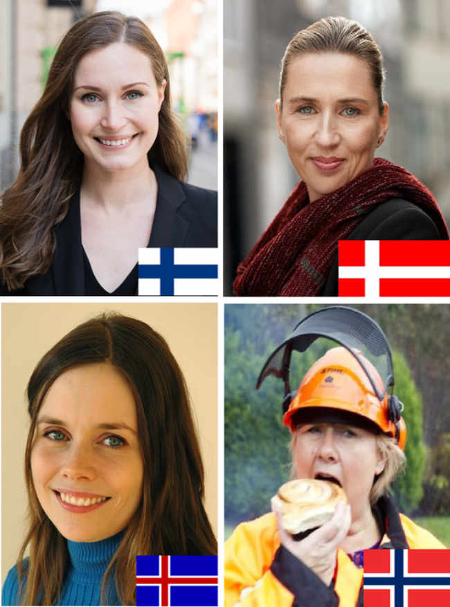 As a Norwegian, I find this absolutely fabulous! (Nordic Prime Ministers)