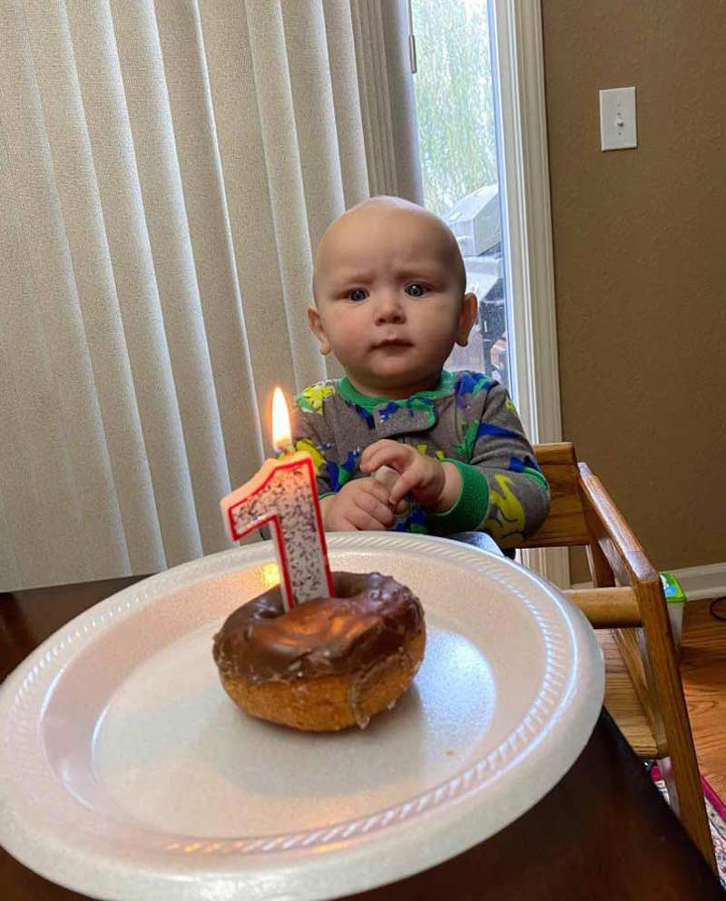 My son is suspicious about the whole birthday idea