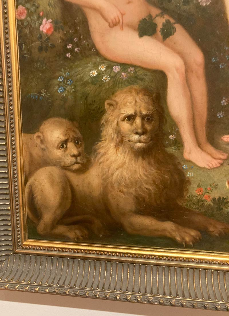 These two lions from today's gallery visit