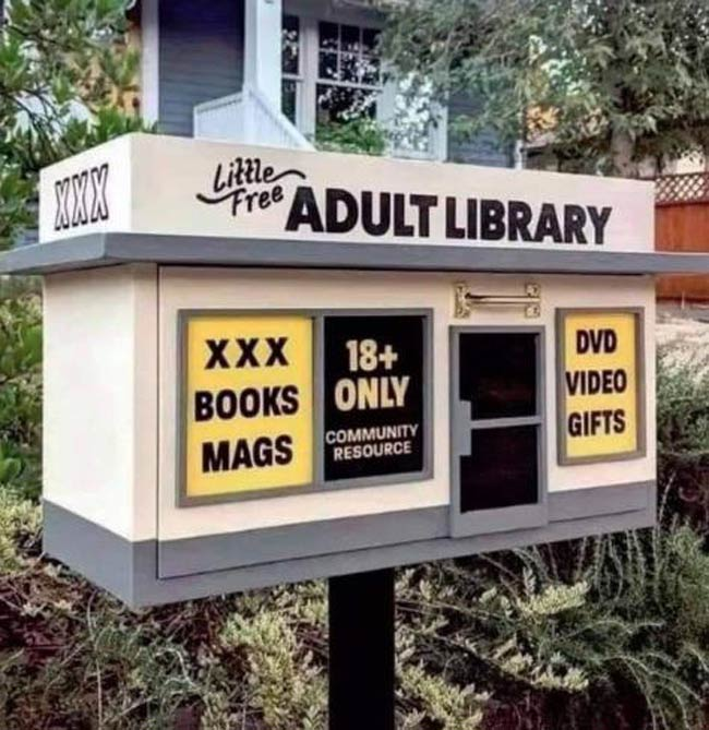 The sexiest little library in town!