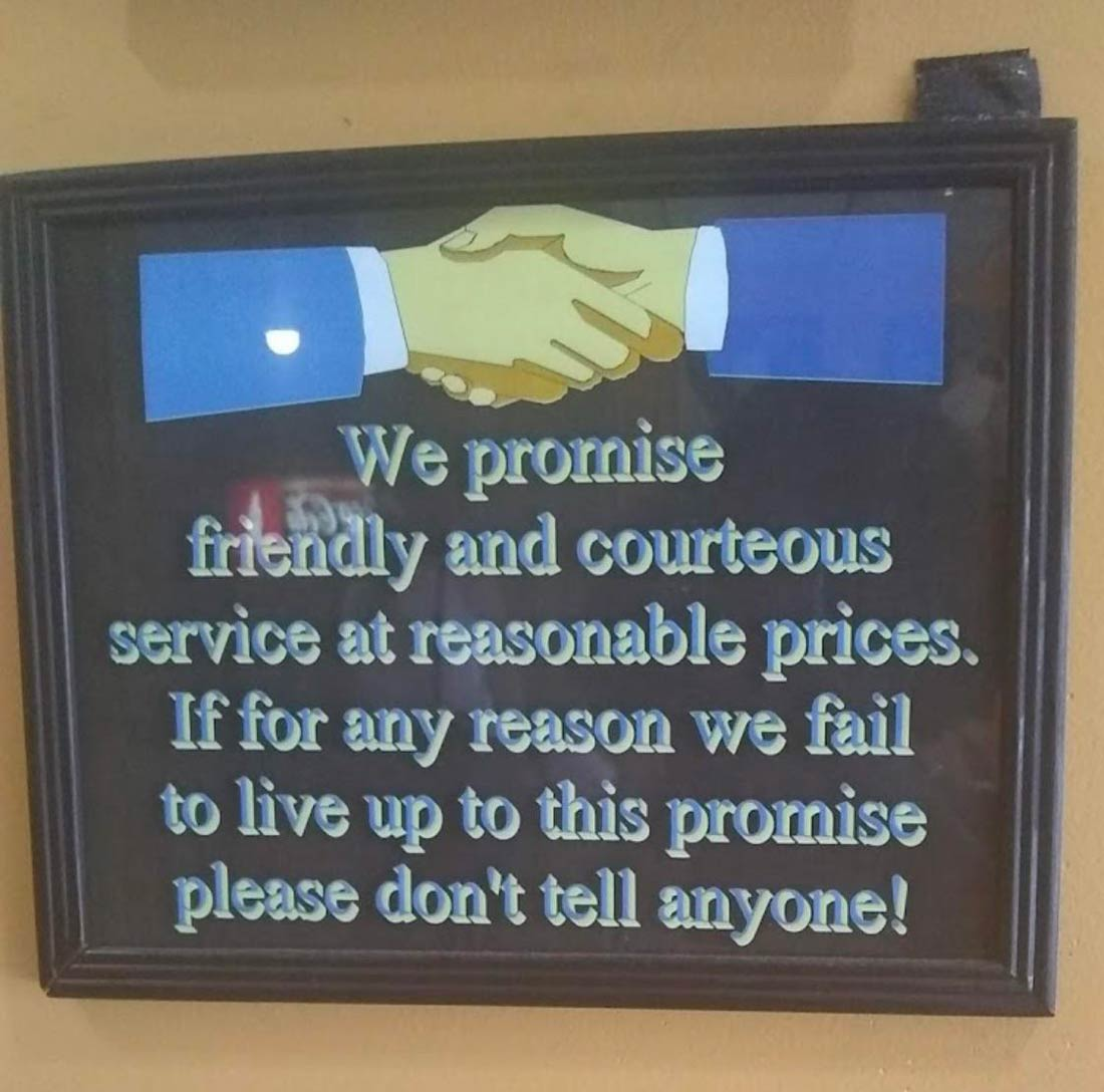 We Promise